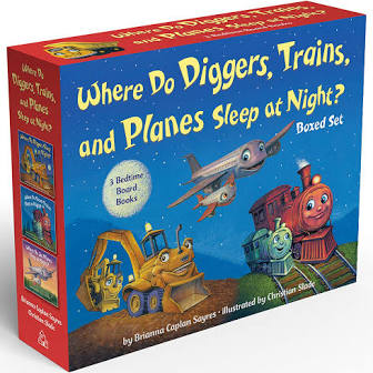 Where do Diggers, Planes, Trains 3-Book Boxed Set