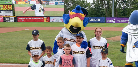 Trenton Thunder Game for Thea's Star of Hope
