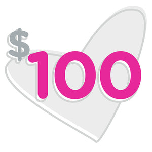 $100 for Hope (One Time Donation)