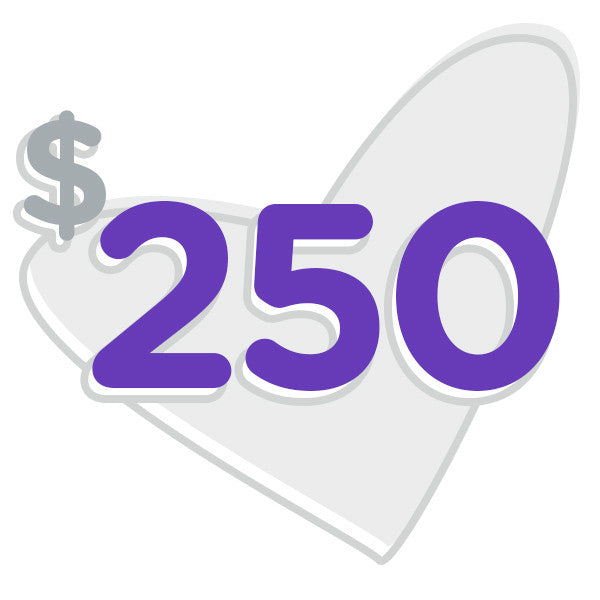 $250 for Hope (One Time Donation)