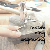 Inside Ring Engraving - Rito Originals - 1