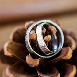 Line Textured Birch Ring - Sterling Silver - Rito Originals - 4