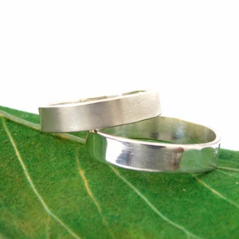 Plain Sterling Silver Band - Rito Originals