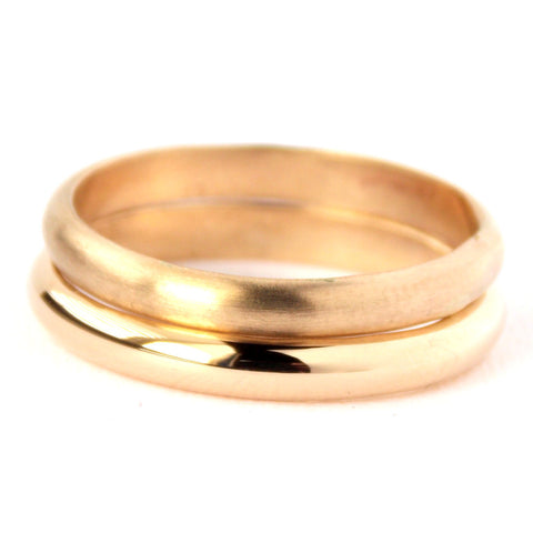 Yellow Gold-filled Domed Ring - 14k Gold-filled - Rito Originals - 1