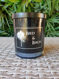 Black Extra Large Jar Candle