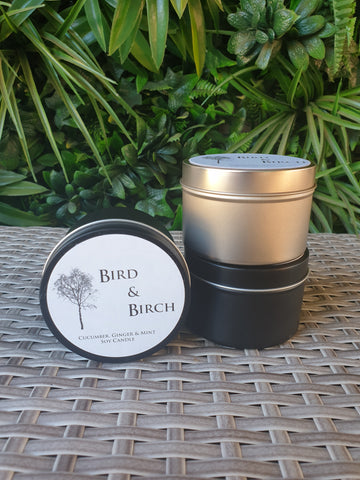 Scented Travel Tin Candle