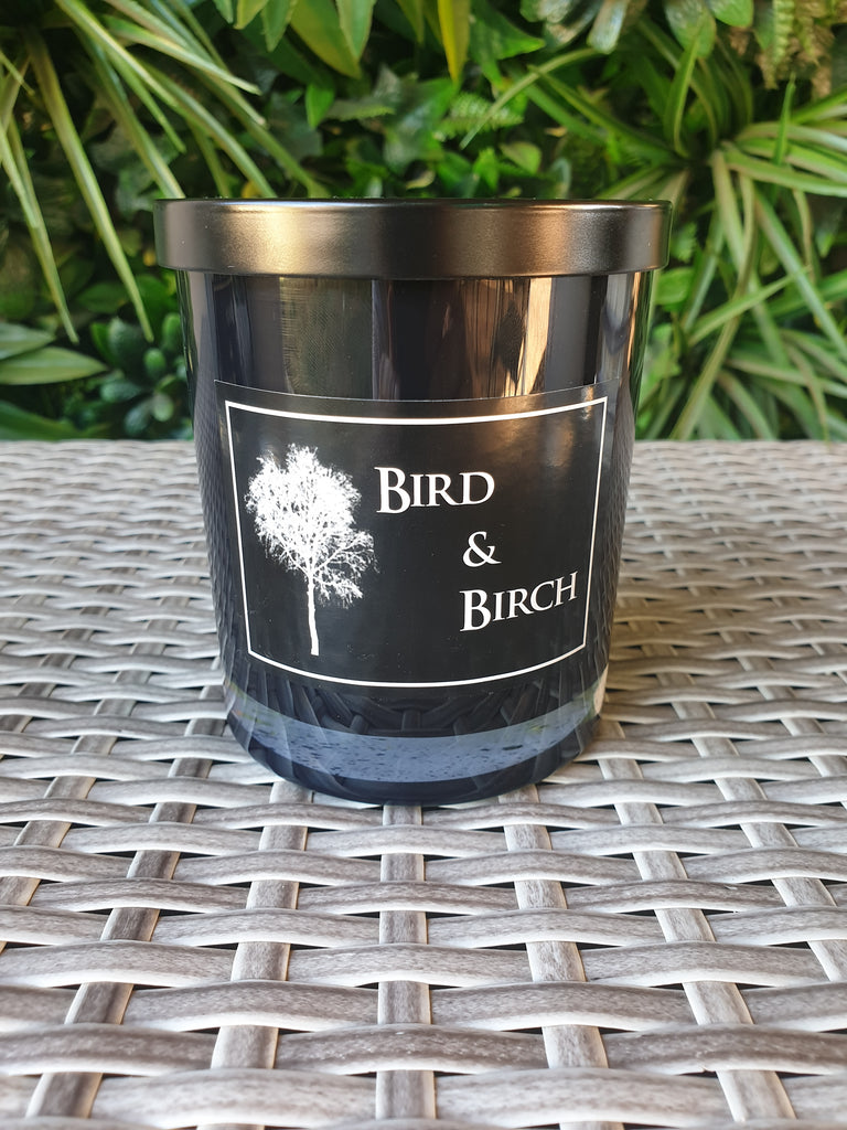 Black Large Jar Candle