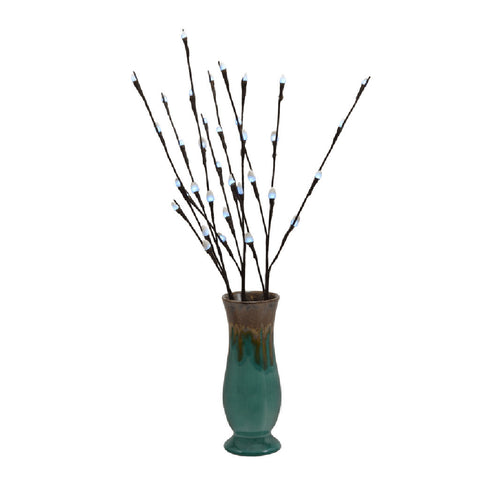 Led Light Branch Wwillow In Vase Eros