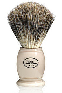 Pure Badger Ivory Shaving Brush