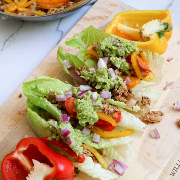 Cheat Chicken Fajitas