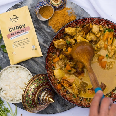 Mingle's Curry In A Hurry, No Worries