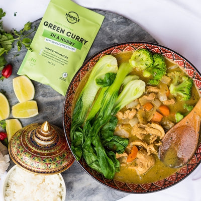 Mingle's Green Curry In A Hurry