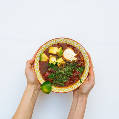 Mingle's Mexican Beef And Bean Soup