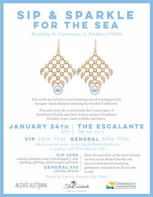 SIP & SPARKLE FOR THE SEA