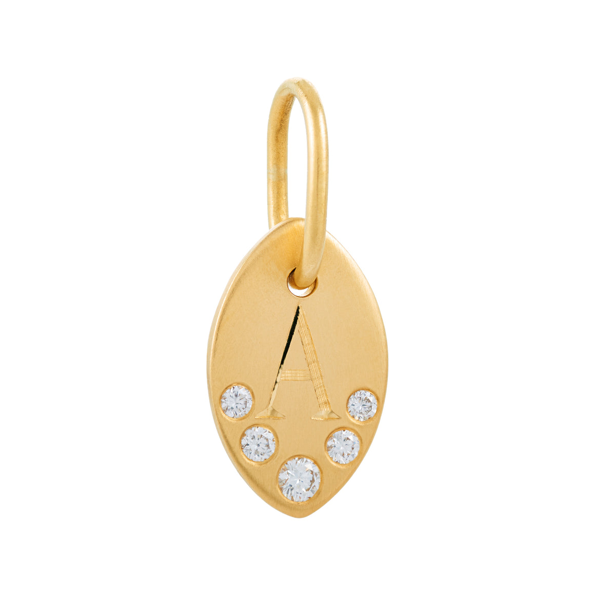 LOTUS LEAF GOLD CHARM