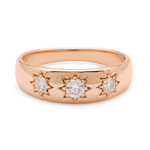 Lucky Star Ring - Rose Gold