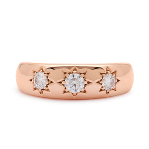 LUCKY STAR ROSE GOLD RING