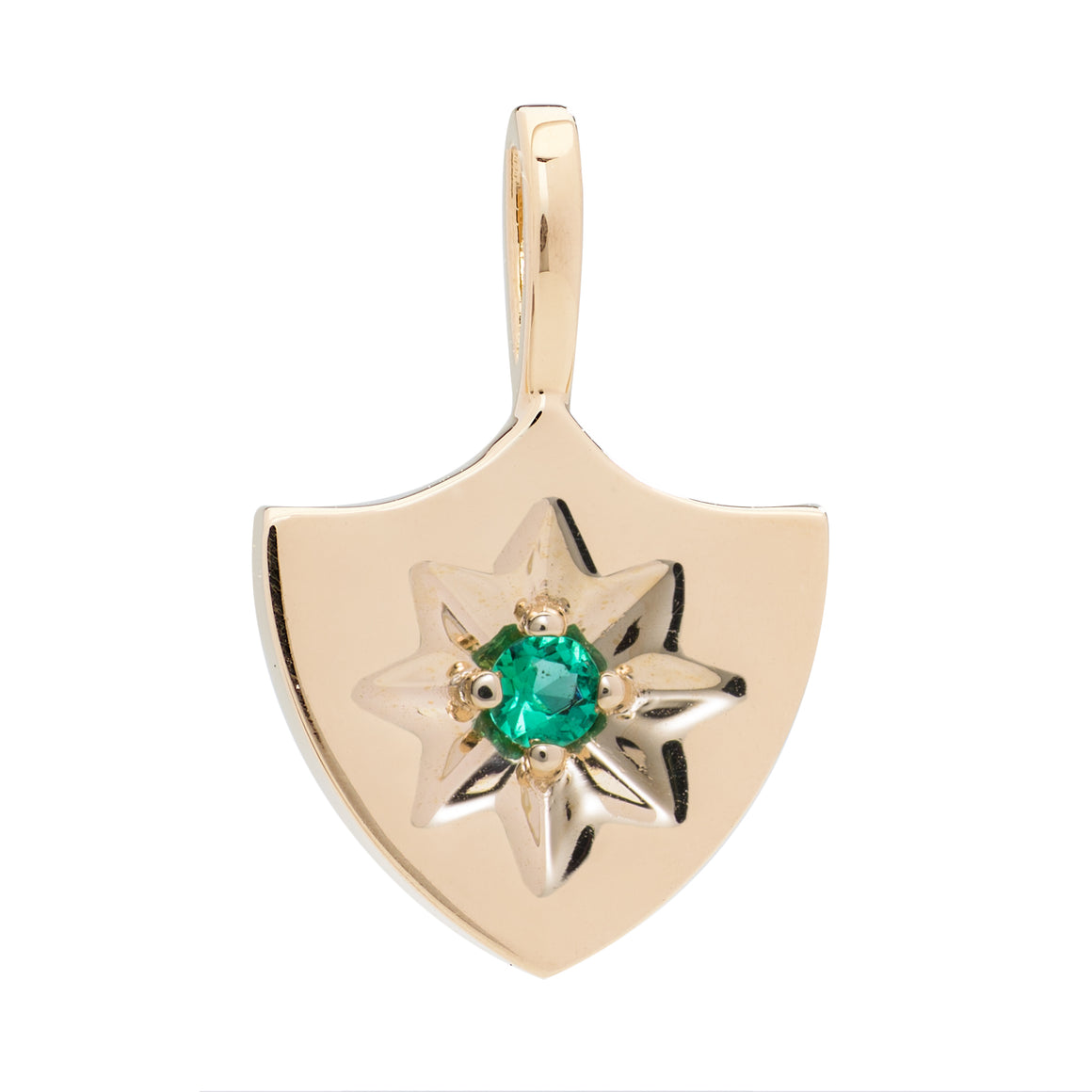 Emerald Lucky Star Shield