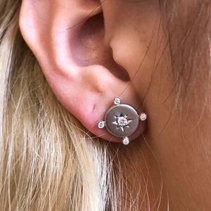 LUCKY STAR COMPASS EARRINGS