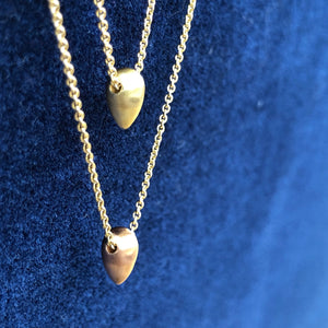 LOTUS SEED NECKLACE YELLOW GOLD