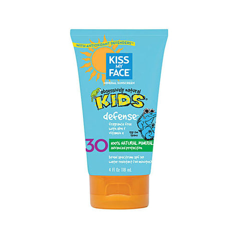 Kids Defense Mineral SPF 30 Sunscreen Lotion