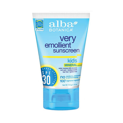 Very Emollient Mineral Sunscreen Kids SPF 30