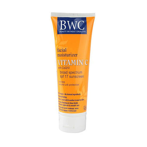 Beauty Without Cruelty Vitamin C with Coq10 SPF 17 Facial Moisturizer
