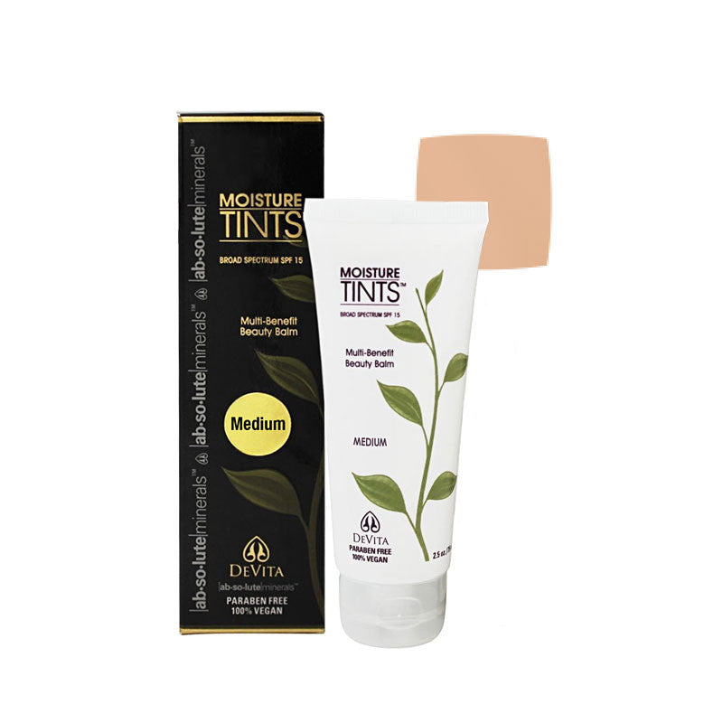 DeVita Moisture Tints SPF 15 - Medium Tint