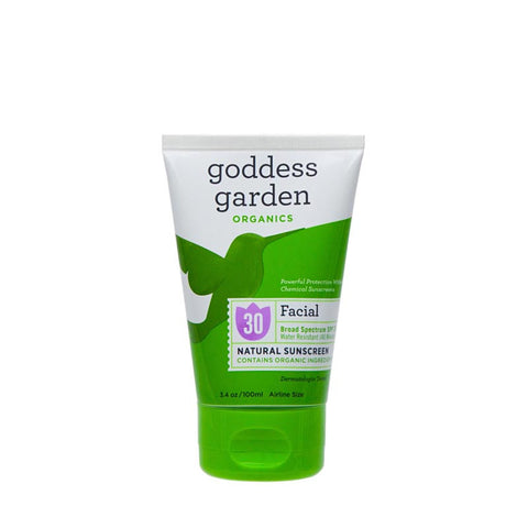 Goddess Garden Facial Natural Sunscreen