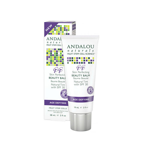 Andalou Naturals Skin Perfecting Beauty Balm Natural Tint SPF 30