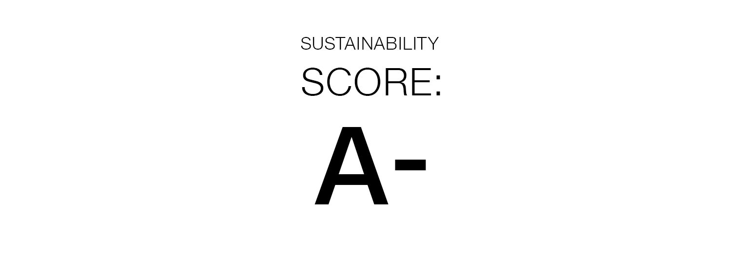 Sustainability Score: A-