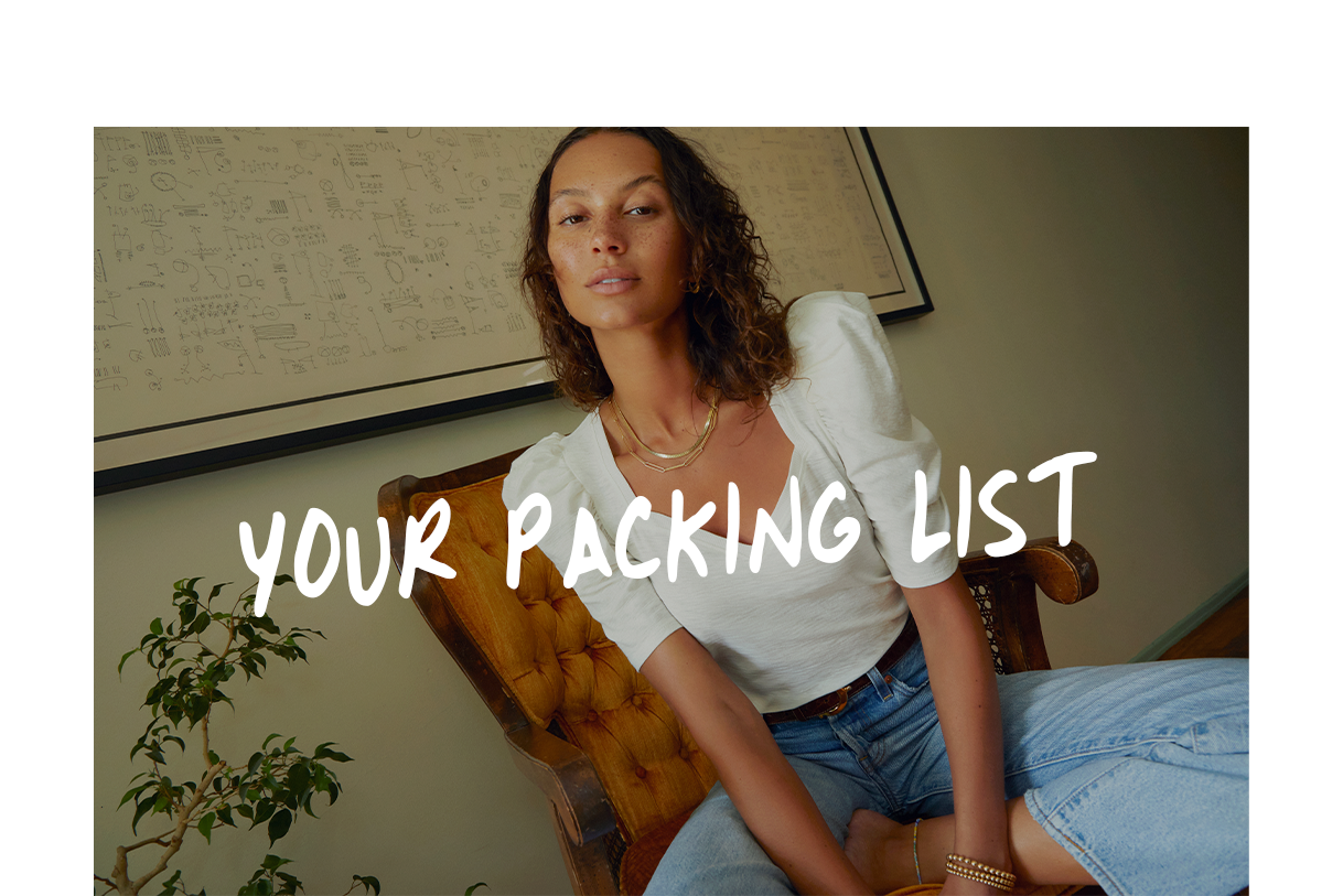 Your Packing List