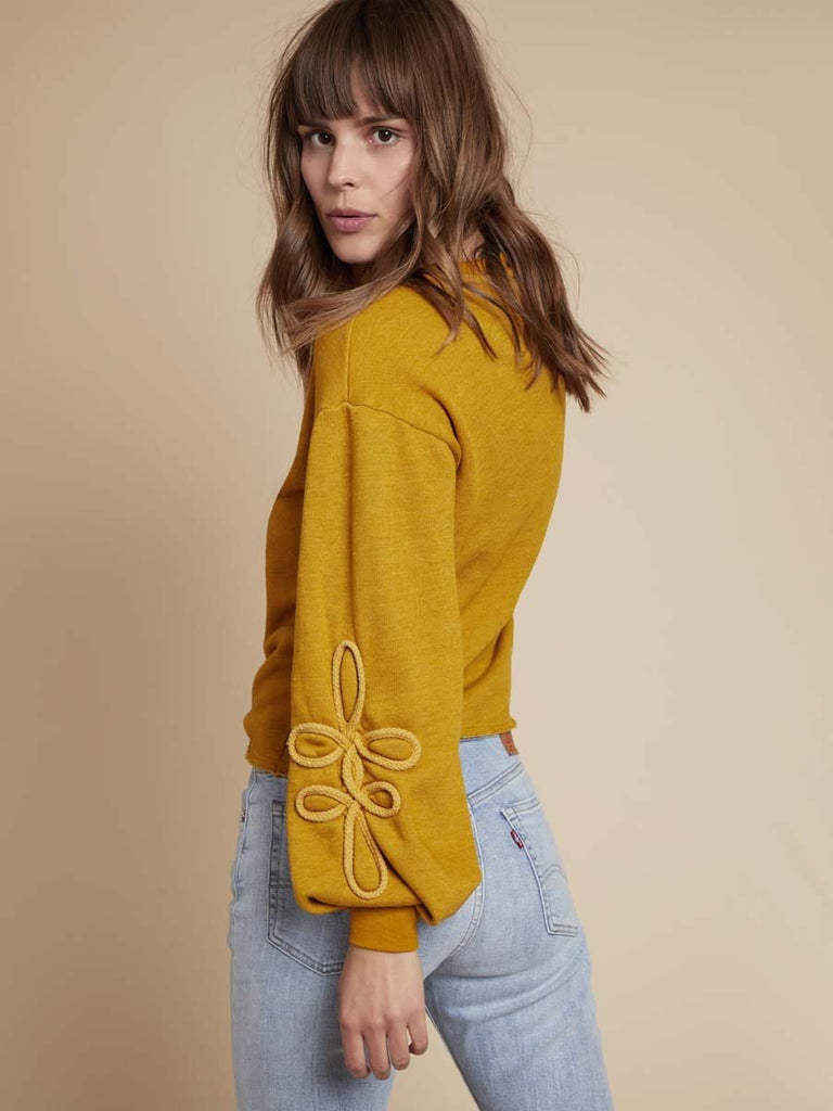 Nation LTD Adaline Sweatshirt in Dijon