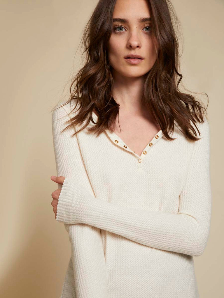 Nation LTD Neala Henley in Creme