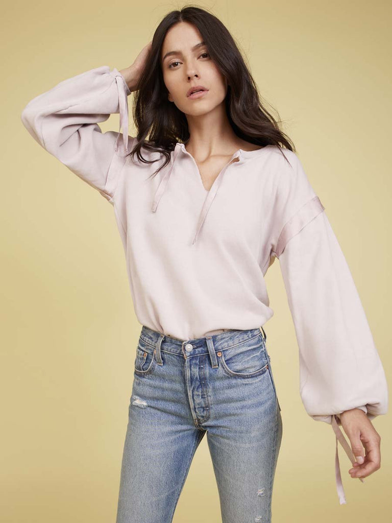 Nation LTD Aerin Sweatshirt in Lavender Rose