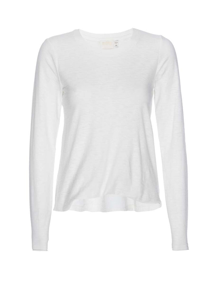 Nation LTD Devi Long Sleeve in Off White