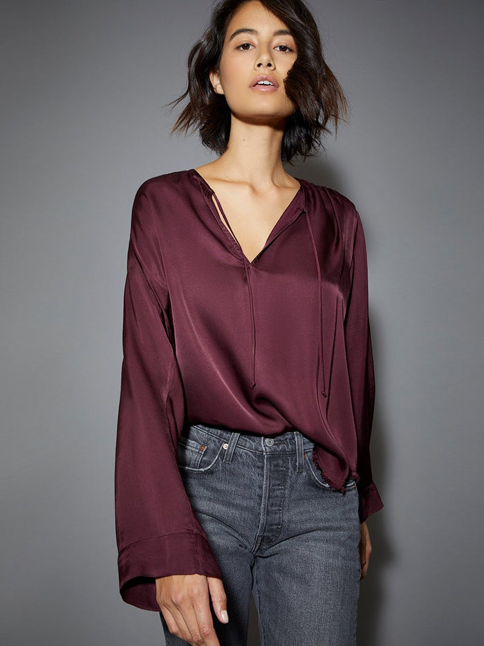 Nation LTD Maura Top in Mulberry