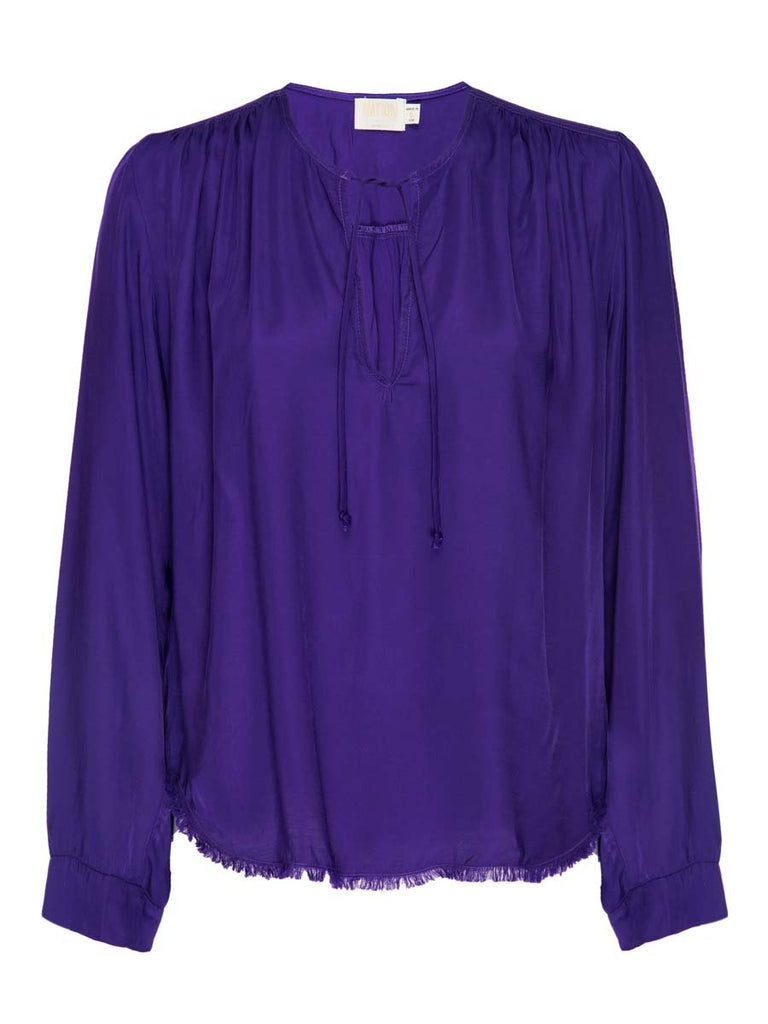 Nation LTD Maura Blouse in Regal