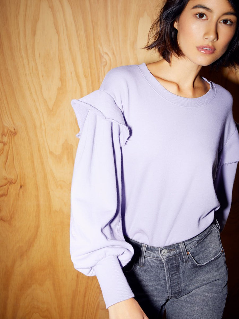 Nation LTD Helena Sweatshirt in Haze