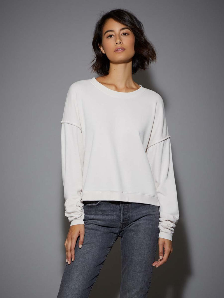 Nation LTD Neely Sweatshirt in Lace