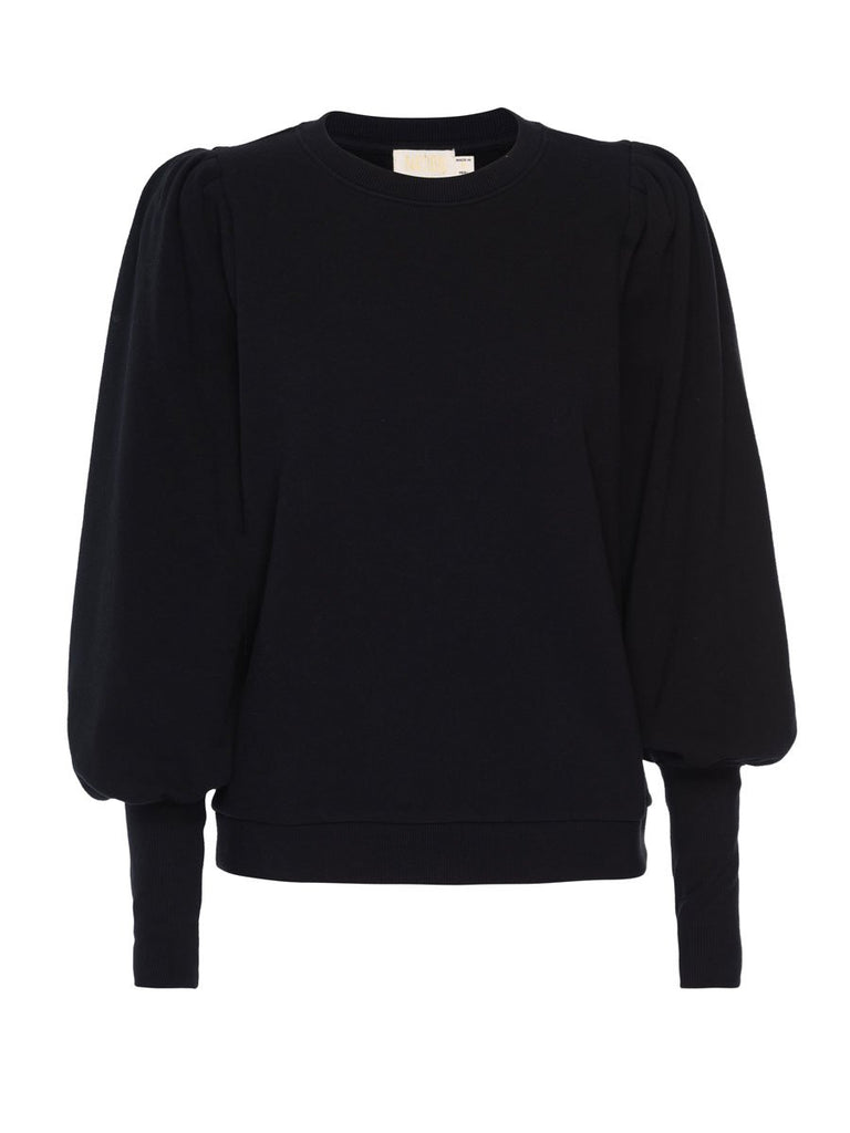 Nation LTD Bethany Sweatshirt in Jet Black