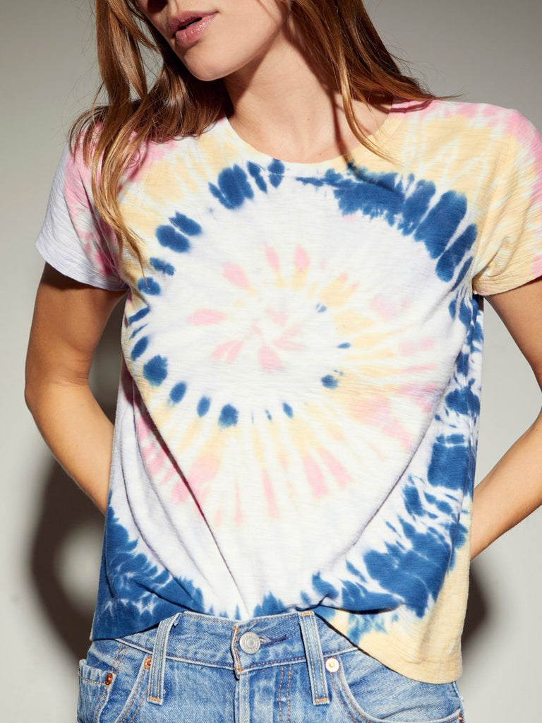 Nation LTD Goldie Tee in Tie Dye