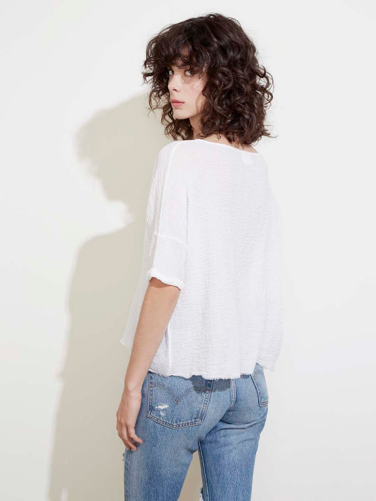 Athena Top in White