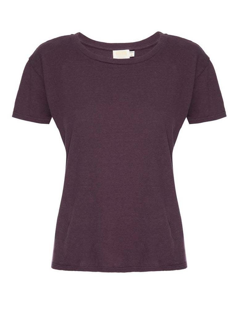 Nation LTD Marie Tee in Recycled Cotton in Grape
