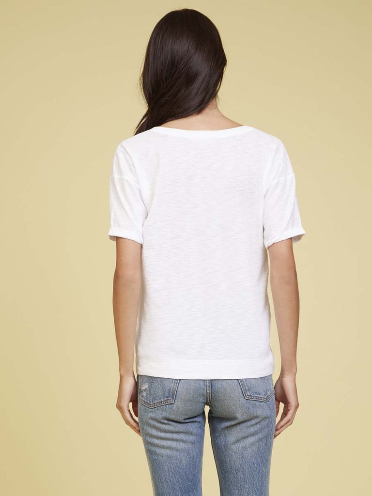 Nation LTD Cameron Tee in White