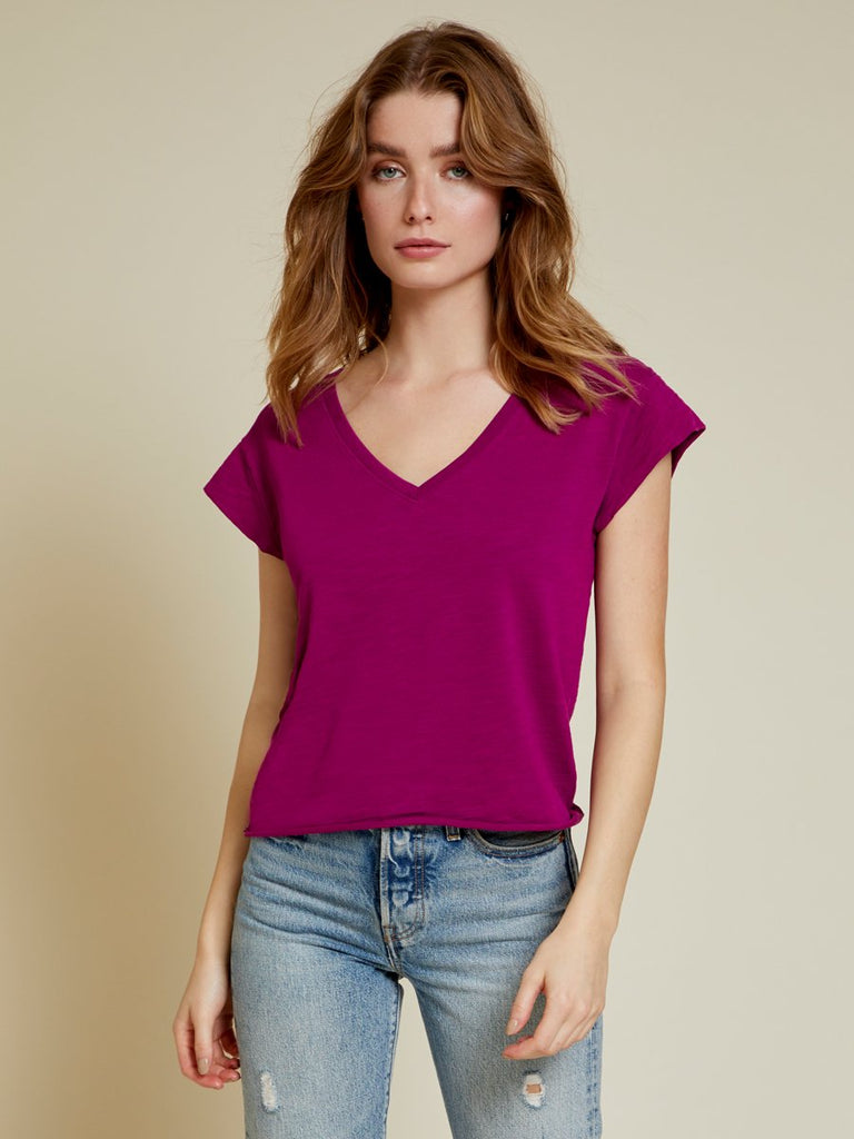 Nation LTD Grace Tee in Berry