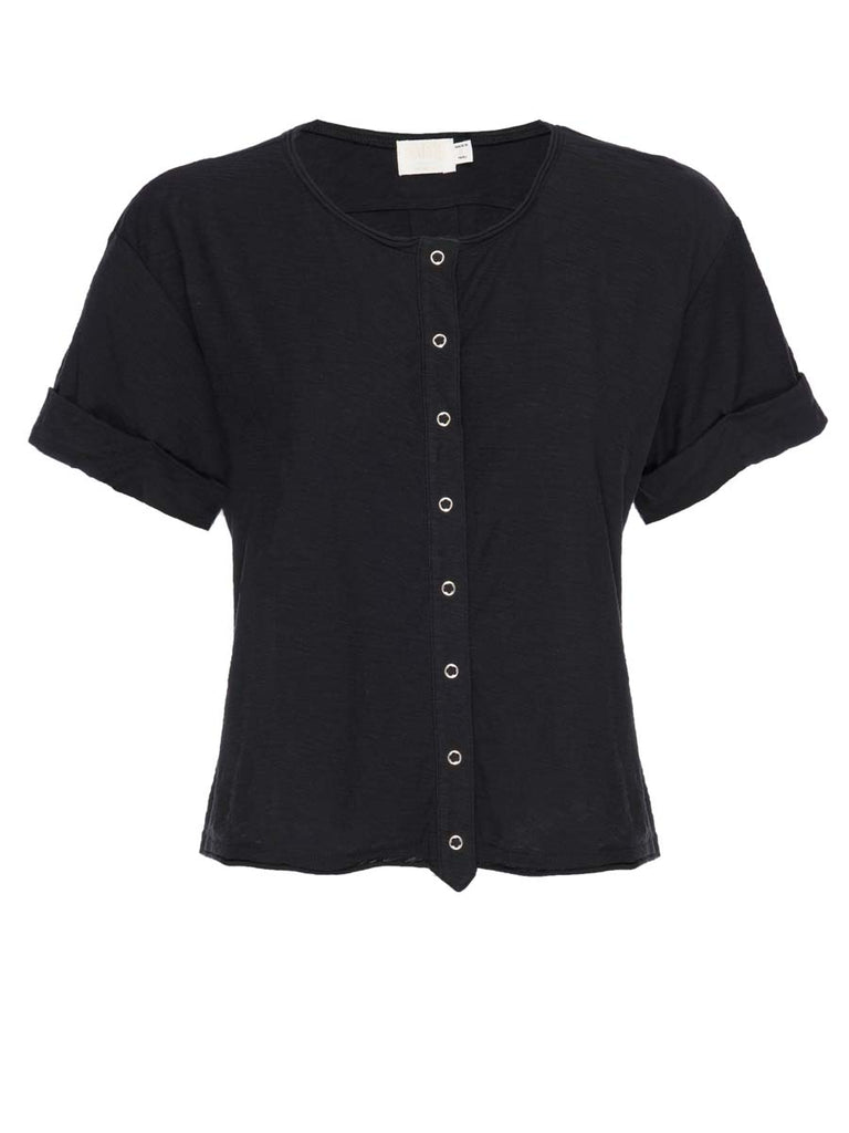 Nation LTD Rowen Henley in Jet Black