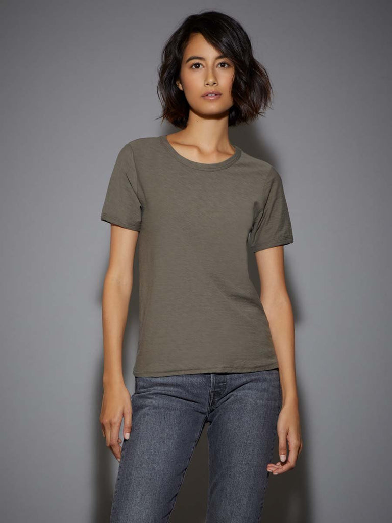 Nation LTD Polly Tee in Artichoke