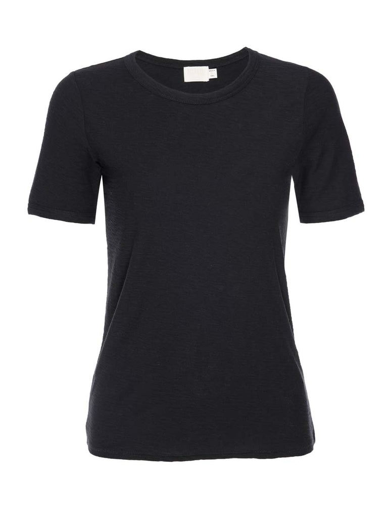 Nation LTD Polly Tee in Jet Black