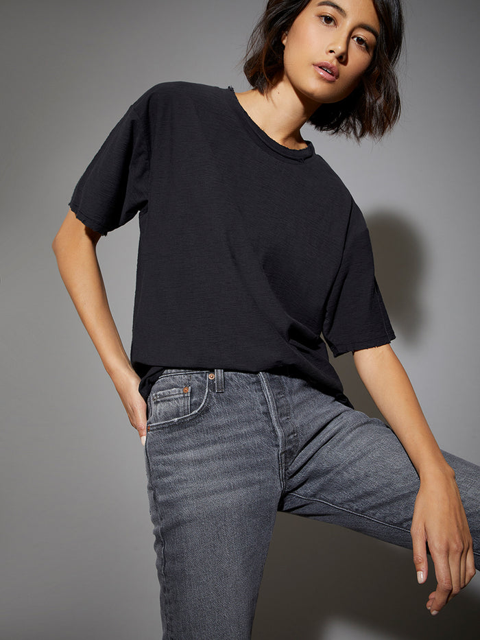 Nation LTD Paula Tee in Jet Black